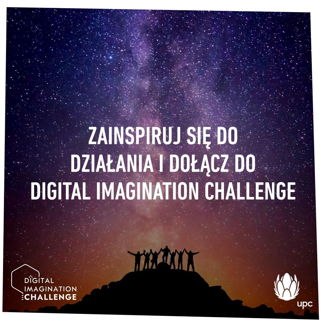 UPC zaprasza do udziału w Programie Digital Imagination