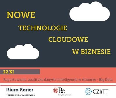 Raportowanie, analityka danych i inteligencja w chmurze - Big Data