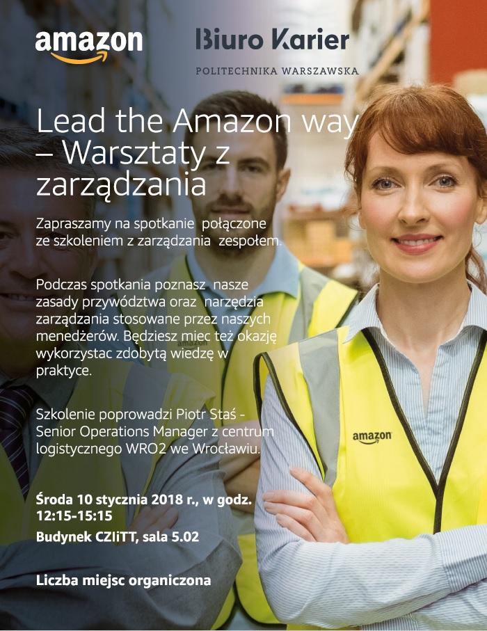 Lead the Amazon way – Warsztaty z zarządzania
