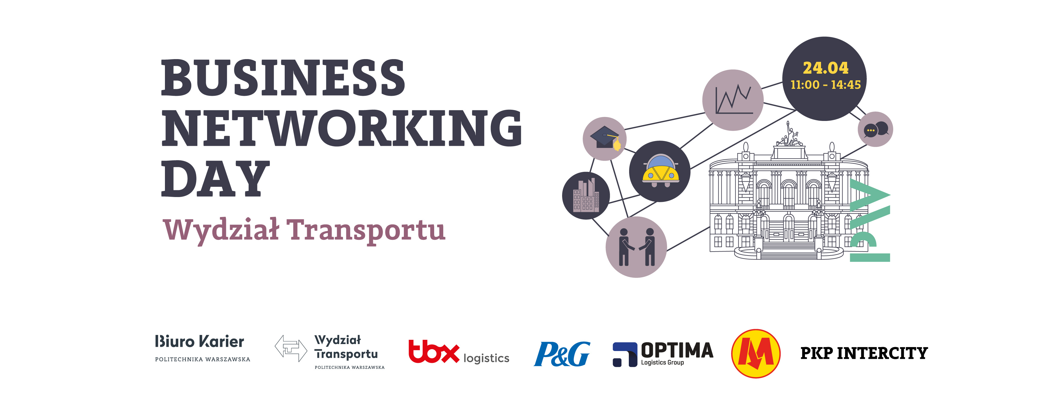 Business Networking Day na Wydziale Transportu PW!