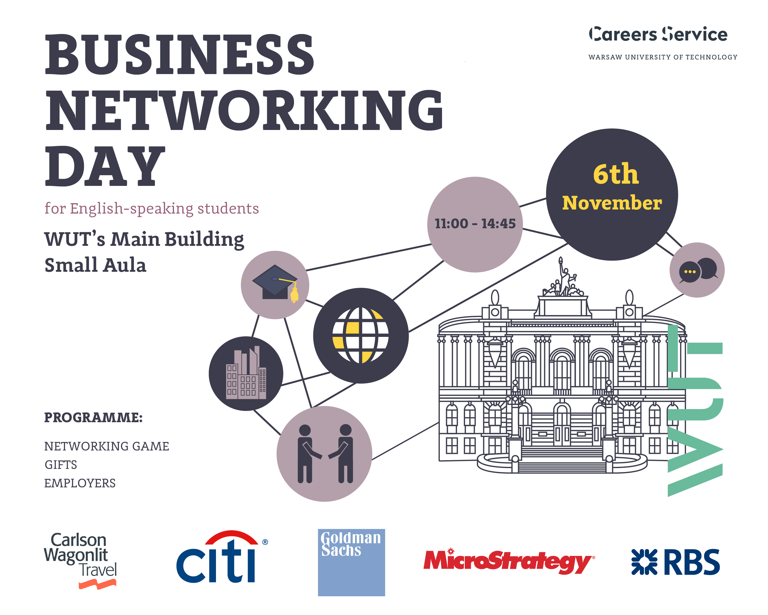 Business Networking Day for English-speaking students