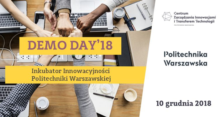 DemoDay Inkubatora Innowacyjności Politechniki Warszawskiej