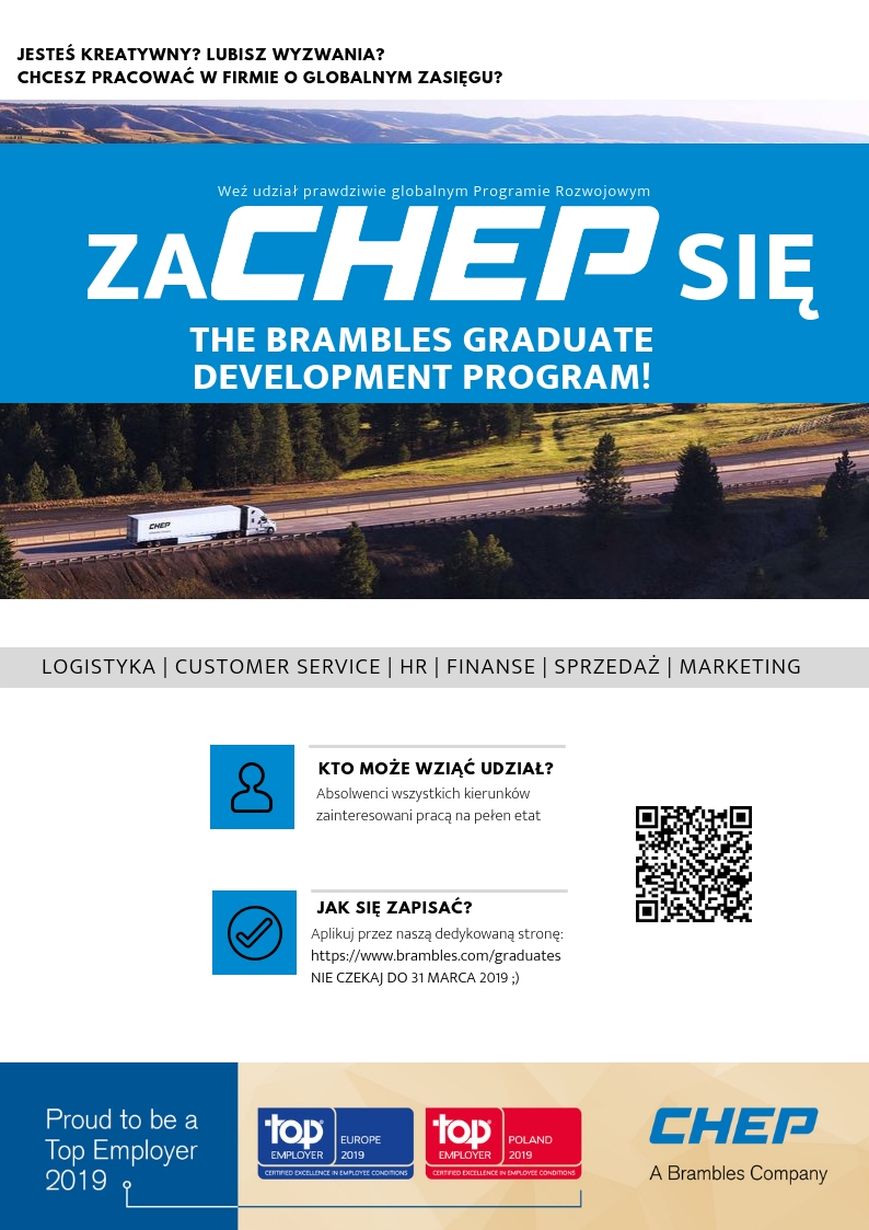 CHEP_Global Brambles Graduate Program