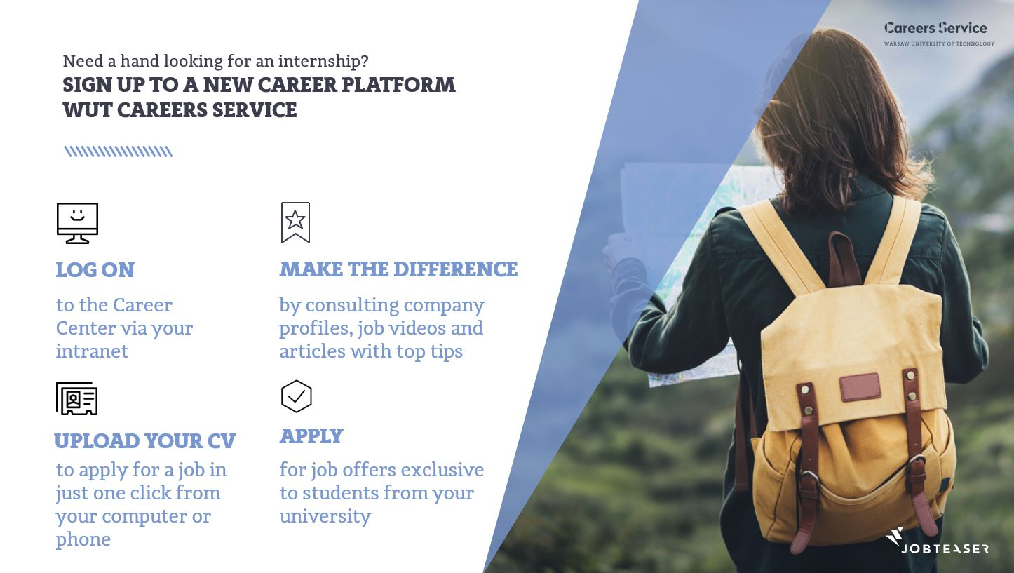 """We have launched a new career platform """"Career Center"""""""