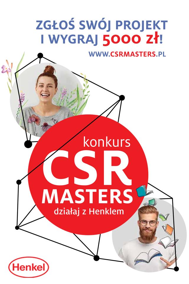 Konkurs CSR Masters