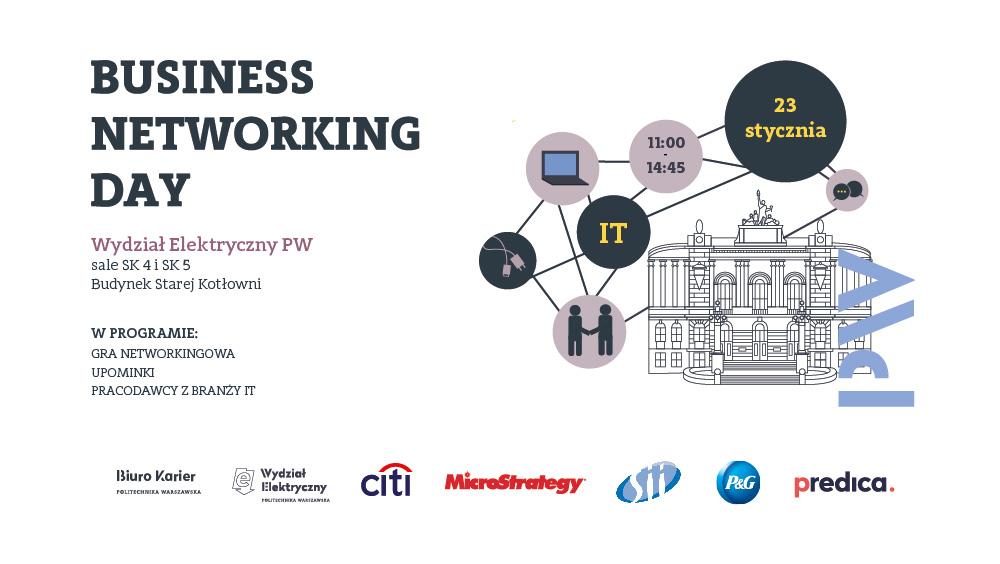 Business Networking Day na Wydziale Elektrycznym PW - branża IT