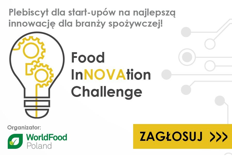 Food InNOVAtion Challenge - plebiscyt wystartował