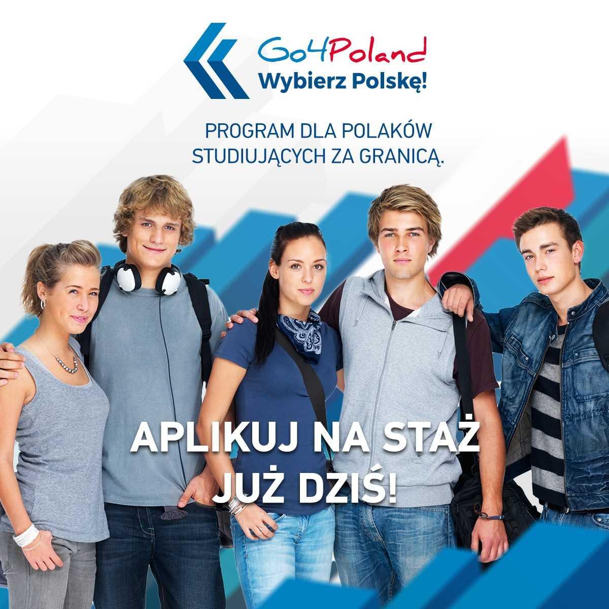 """Program  """"Go4Poland – Wybierz Polskę!"""