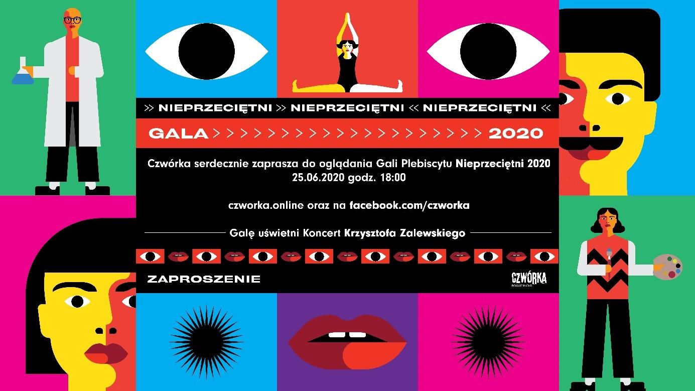 Nieprzeciętni 2020 - Gala Plebiscytu