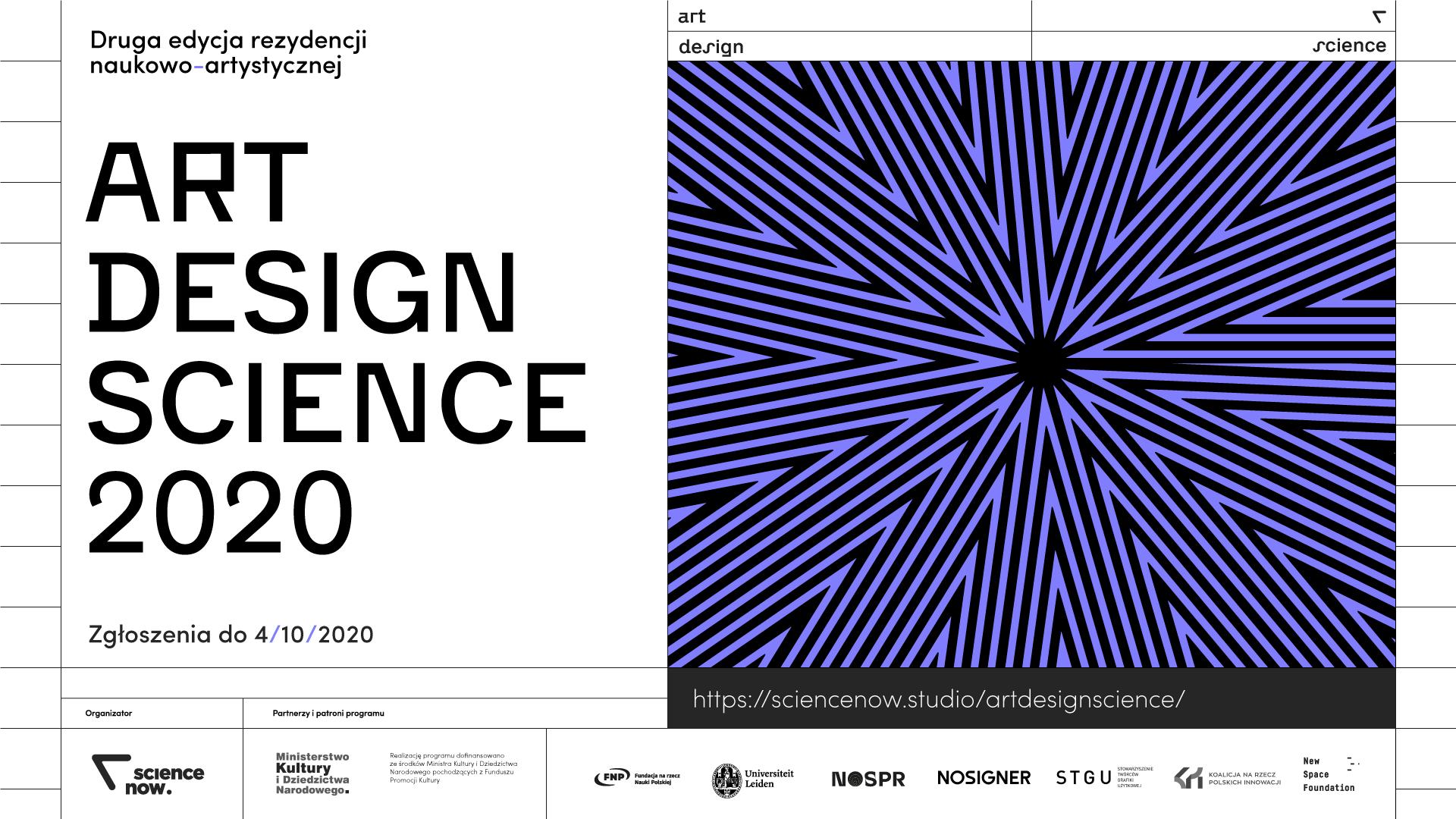 Program rezydencji naukowo-artystycznej ART + DESIGN + SCIENCE