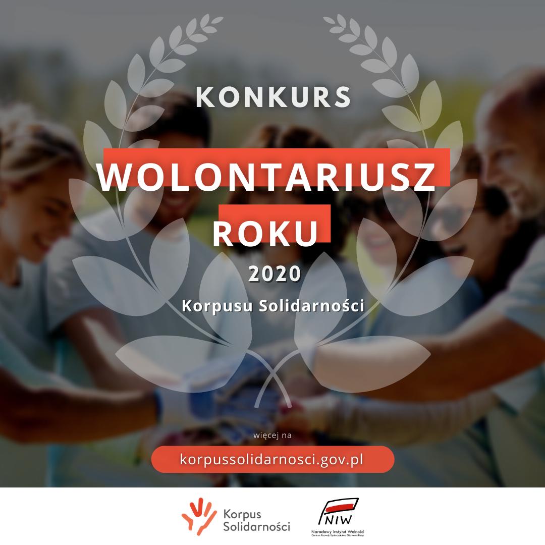 Podziękuj wolontariuszowi – weź udział w konkursie Wolontariusz Roku Korpusu Solidarności! Doceń swojego wolontariusza!