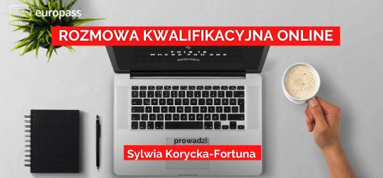 """Krajowe Centrum Europass zaprasza do udziału w bezpłatnym webinarium pt. """"Rozmowa kwalifikacyjna online""""."""