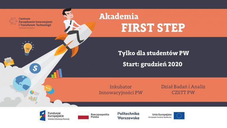 Zapraszamy do udziału w programie AKADEMIA FIRST STEP