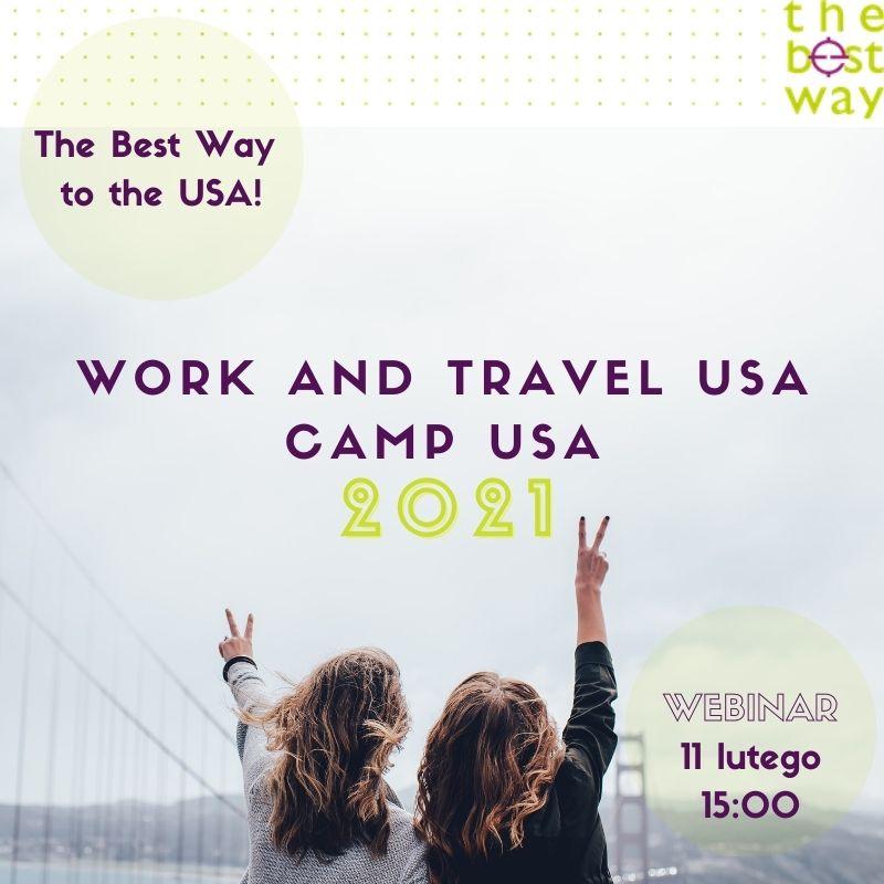 Webinar dotyczący programów Work and Travel USA i Camp USA