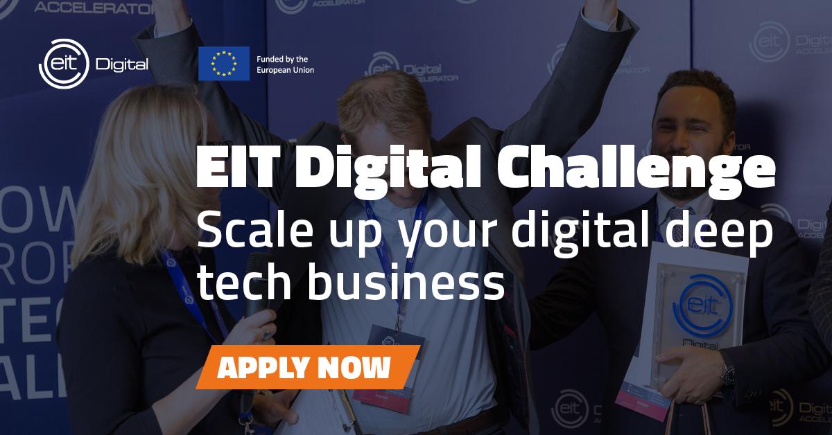 Zgłoś się już teraz do EIT Digital Challenge 2021