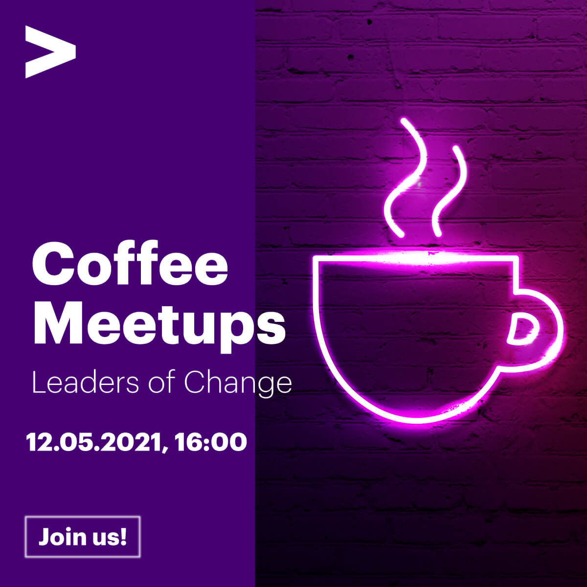 Zapraszamy na wyjątkowe wydarzenie Accenture Coffee Meetups: Leaders of Change.