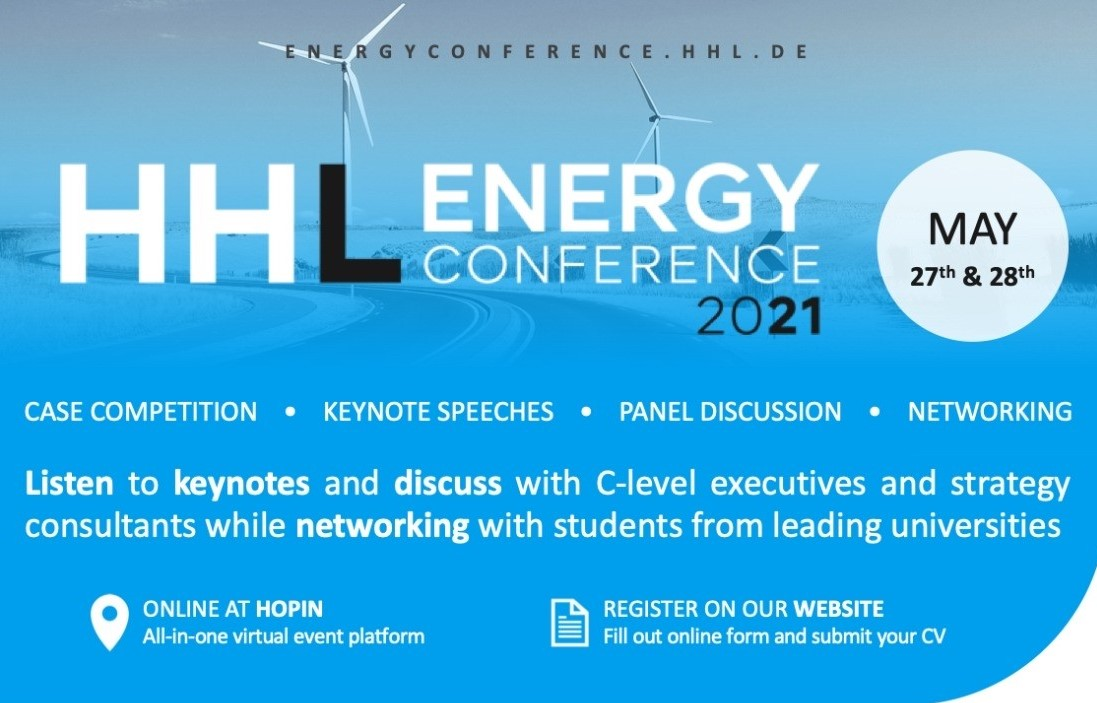 HHL Energy Conference 2021