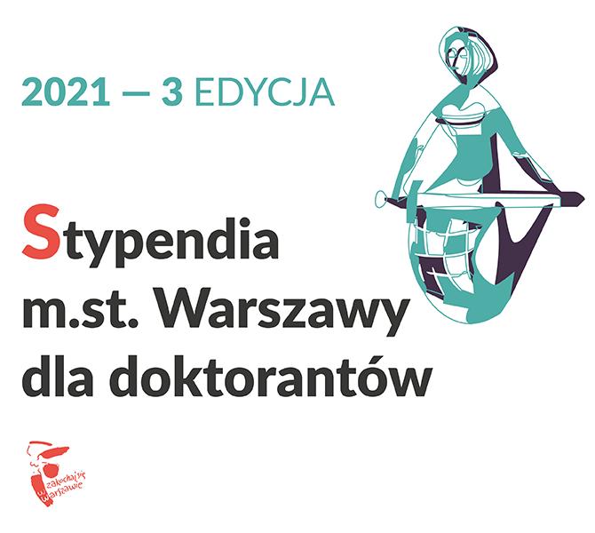 Stypendia dla doktorantek i doktorantów prowadzących badania związane z Warszawą!