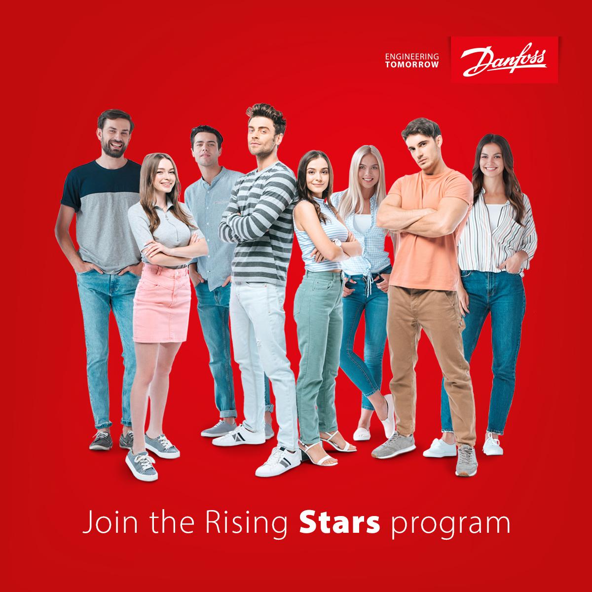 Danfoss Rising Stars - nowy program stypendialny dla studentów