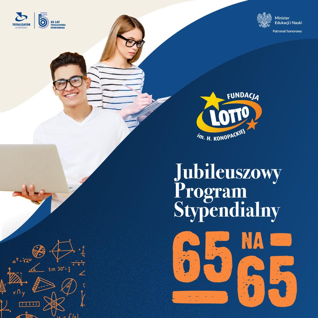 Program stypendialny Fundacji Lotto!